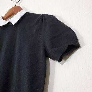 Forever 21 Dresses - Forever21 Contrast Collar Sweater Dress